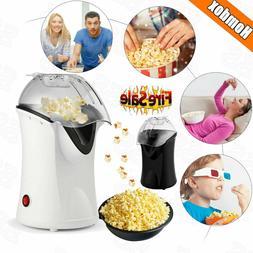 1200W Popcorn Machine Hot Air Pop Popper Maker Mini Tabletop