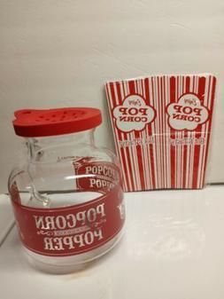 Sharper Image Popcorn Making Kit