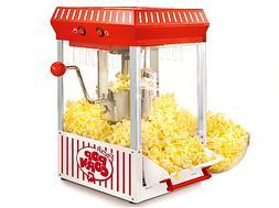 Kettle Popcorn Maker 2.5-Ounce Large Stainless Steel Easy-Op