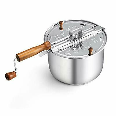 Cook Home 02627 Stainless Steel Popper,