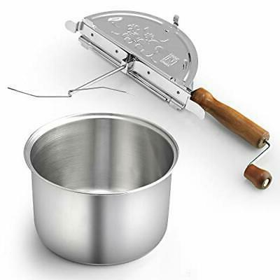 Cook Home Stainless Popcorn Popper,