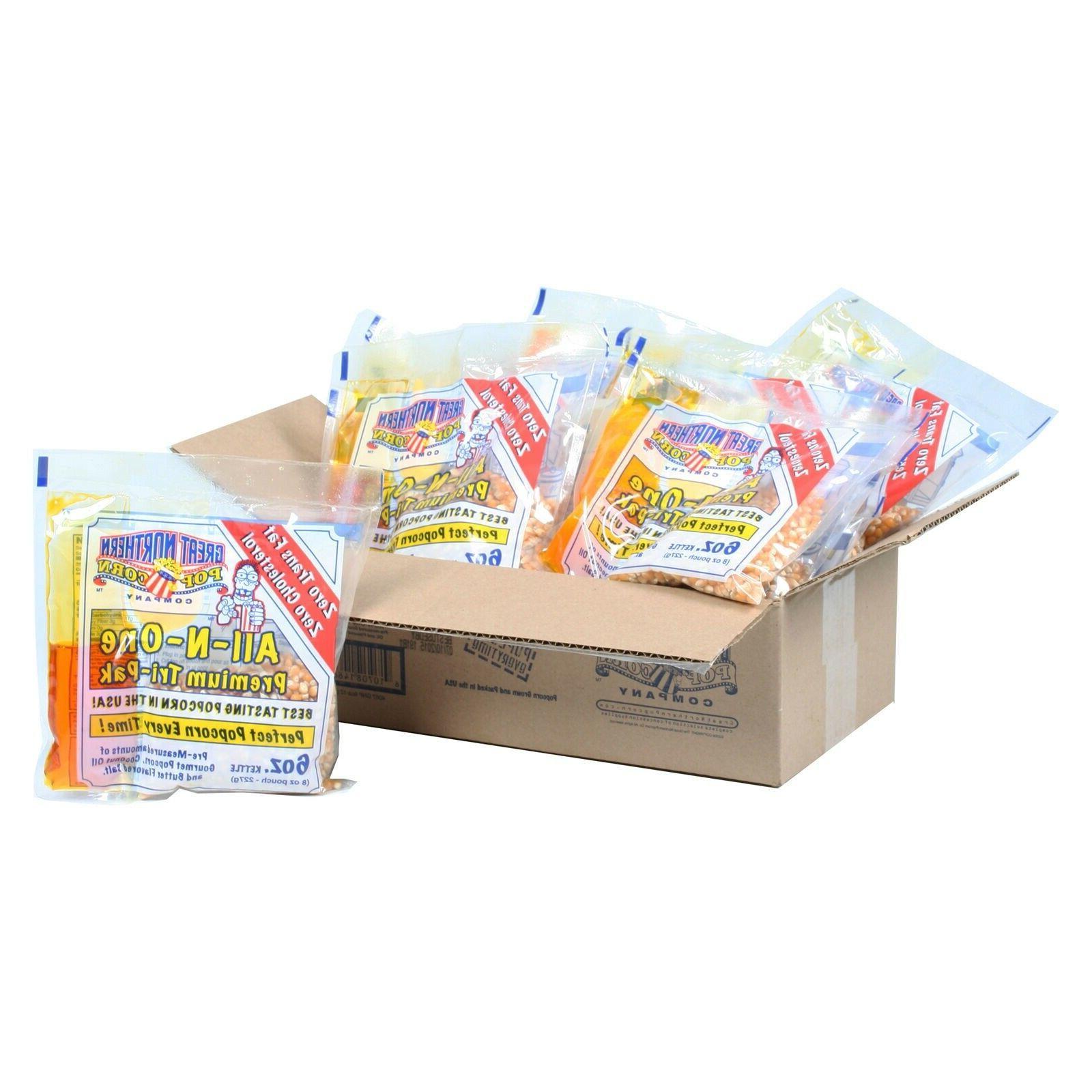 1 case portion packs kit