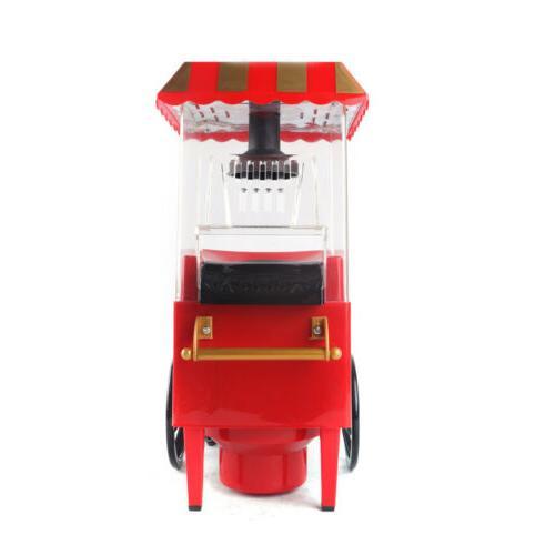 Mini Maker Household Popping Machine Red