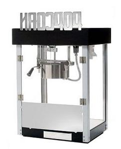 Benchmark USA 11065 Metropolitan Popcorn Machine - 6 Oz
