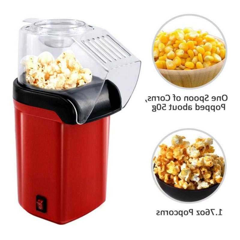 Hot Air Popcorn Popper Fast Machine Measuring Cup