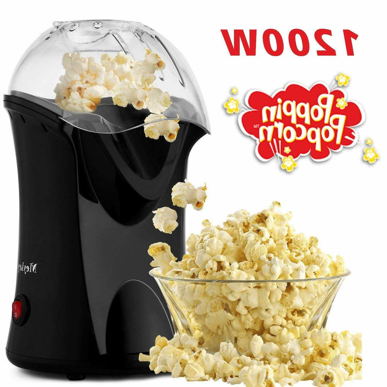 1200w hot air popcorn maker machine popcorn