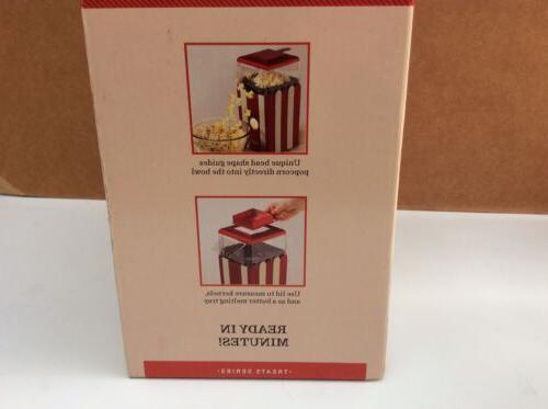 BELLA Popcorn Maker, Red White...NEW!