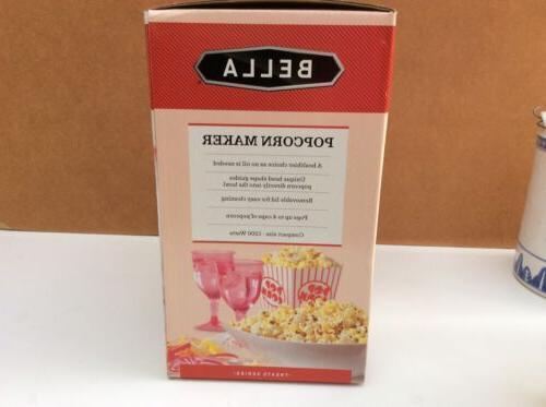 BELLA Hot Popcorn Maker, Red