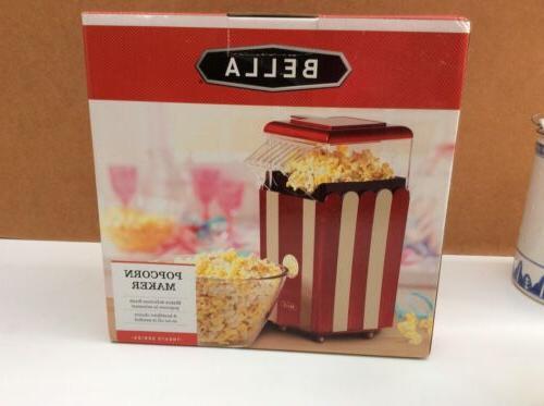13554 hot air popcorn maker red