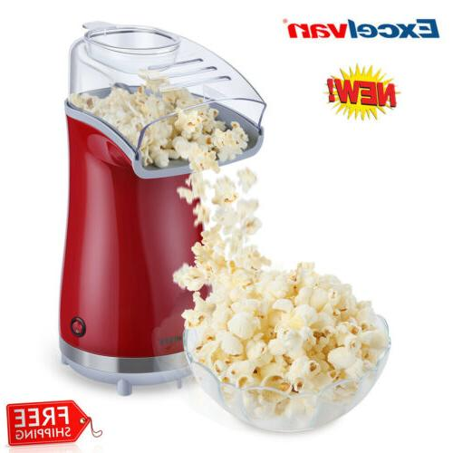 16 cup hot air pop popcorn machine
