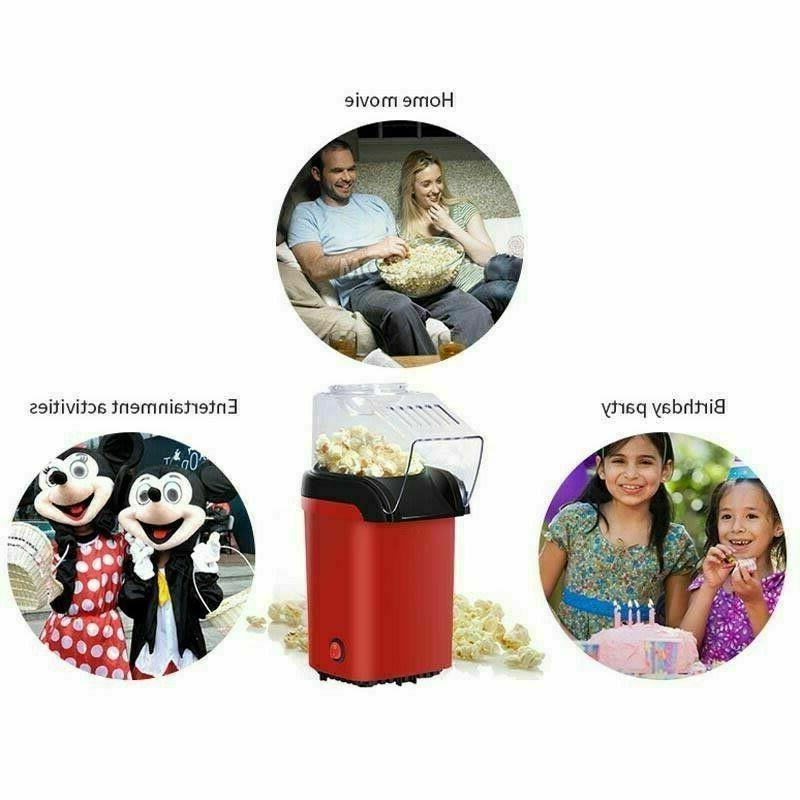 1200W Air Popcorn Popper Mini Home US
