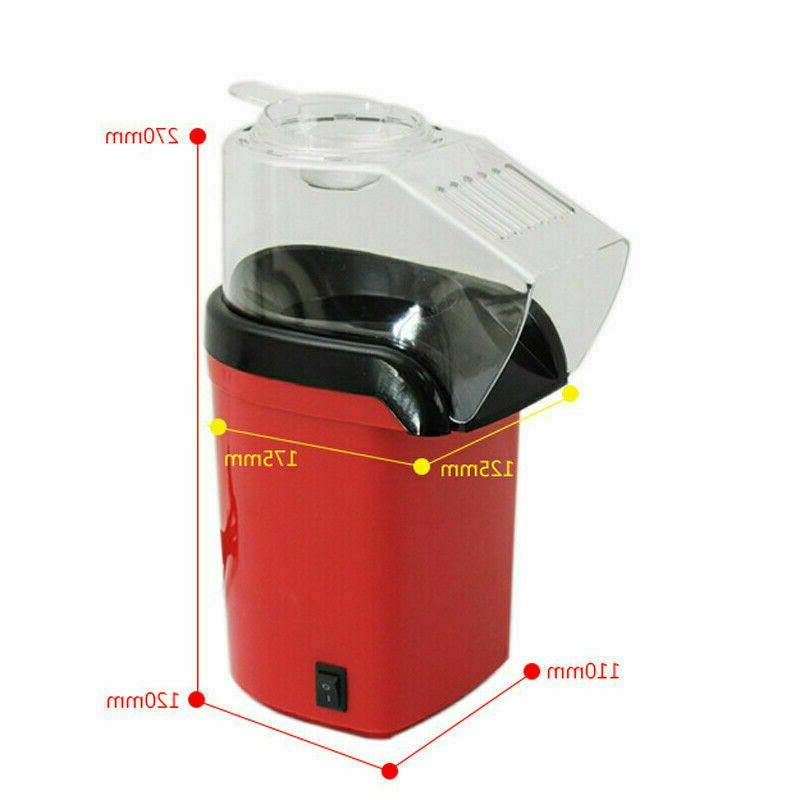 1200W Hot Air Pop Popcorn Mini Home