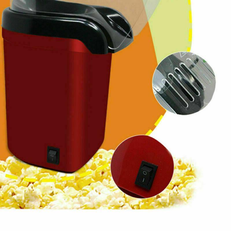1200W Hot Popcorn Machine Popper Mini Tabletop Home