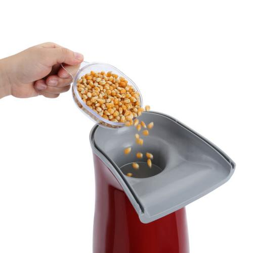 Hot Air Popcorn Machine Popper Tabletop Party w/ Cups
