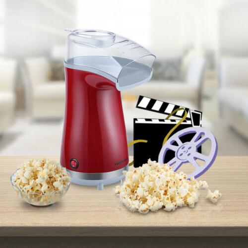 Hot Air Popper Popcorn Maker 1200W Electric Popcorn Making M