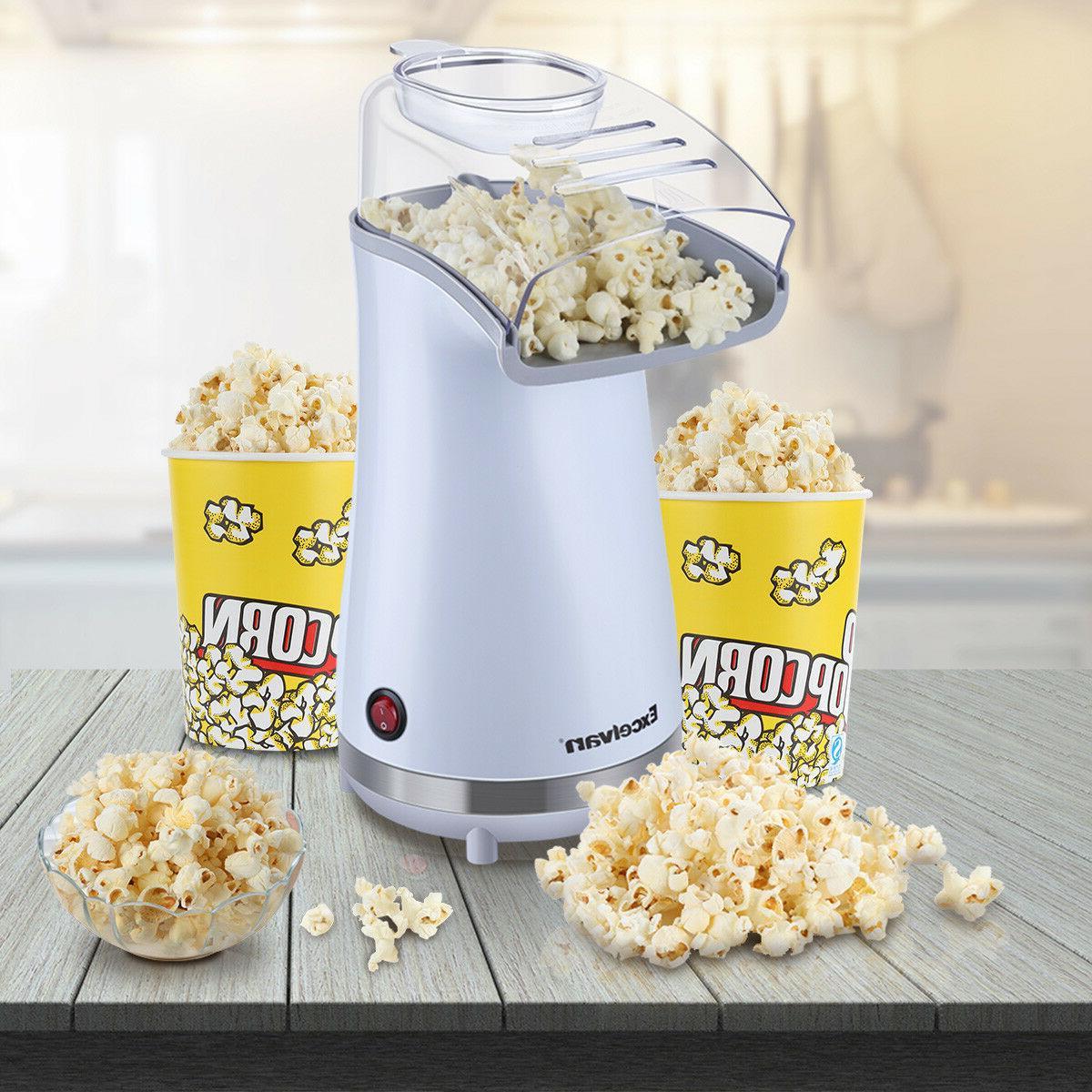 16 Cups Popcorn Popcorn Maker Makes w/ Snack