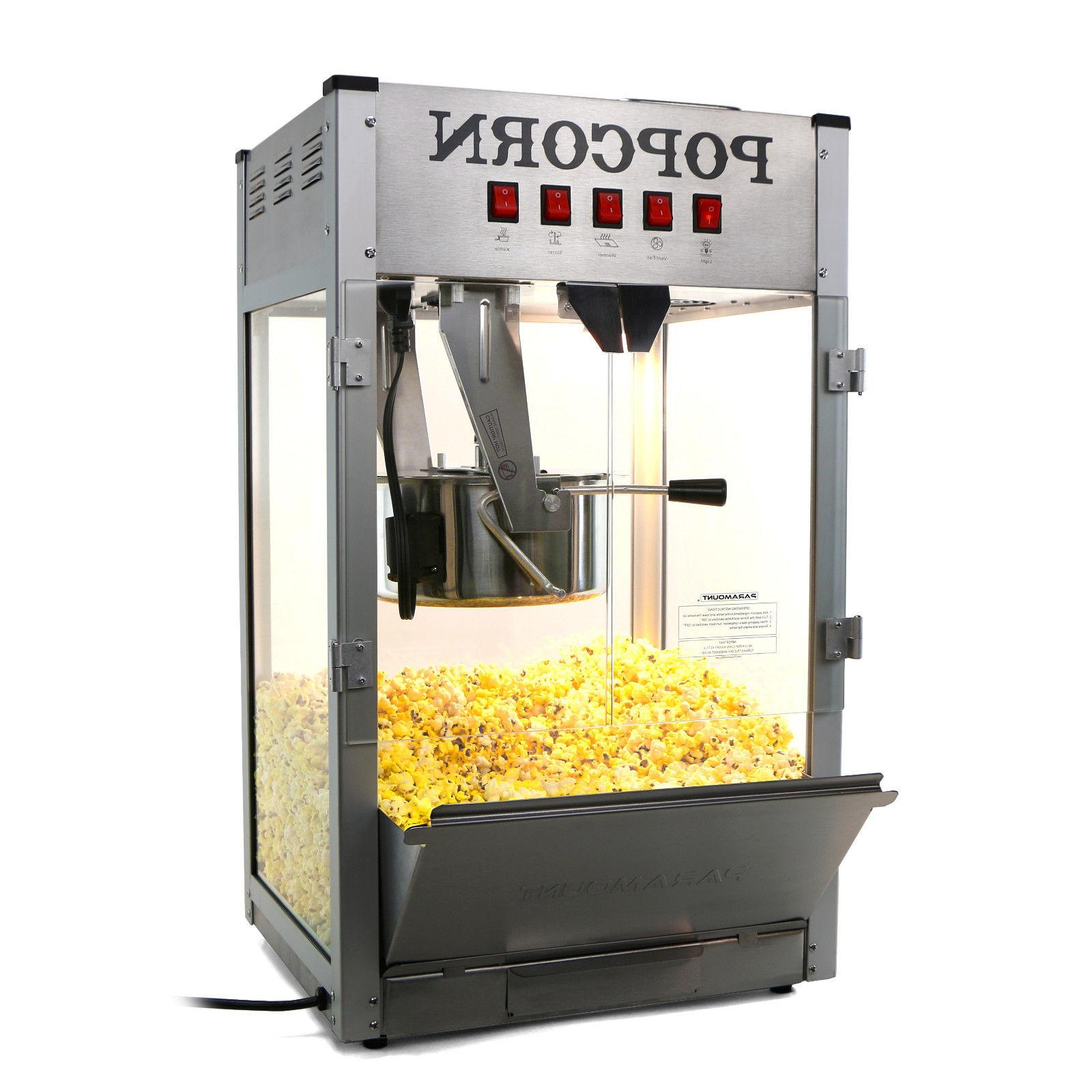 16oz commercial popcorn maker machine 16 oz