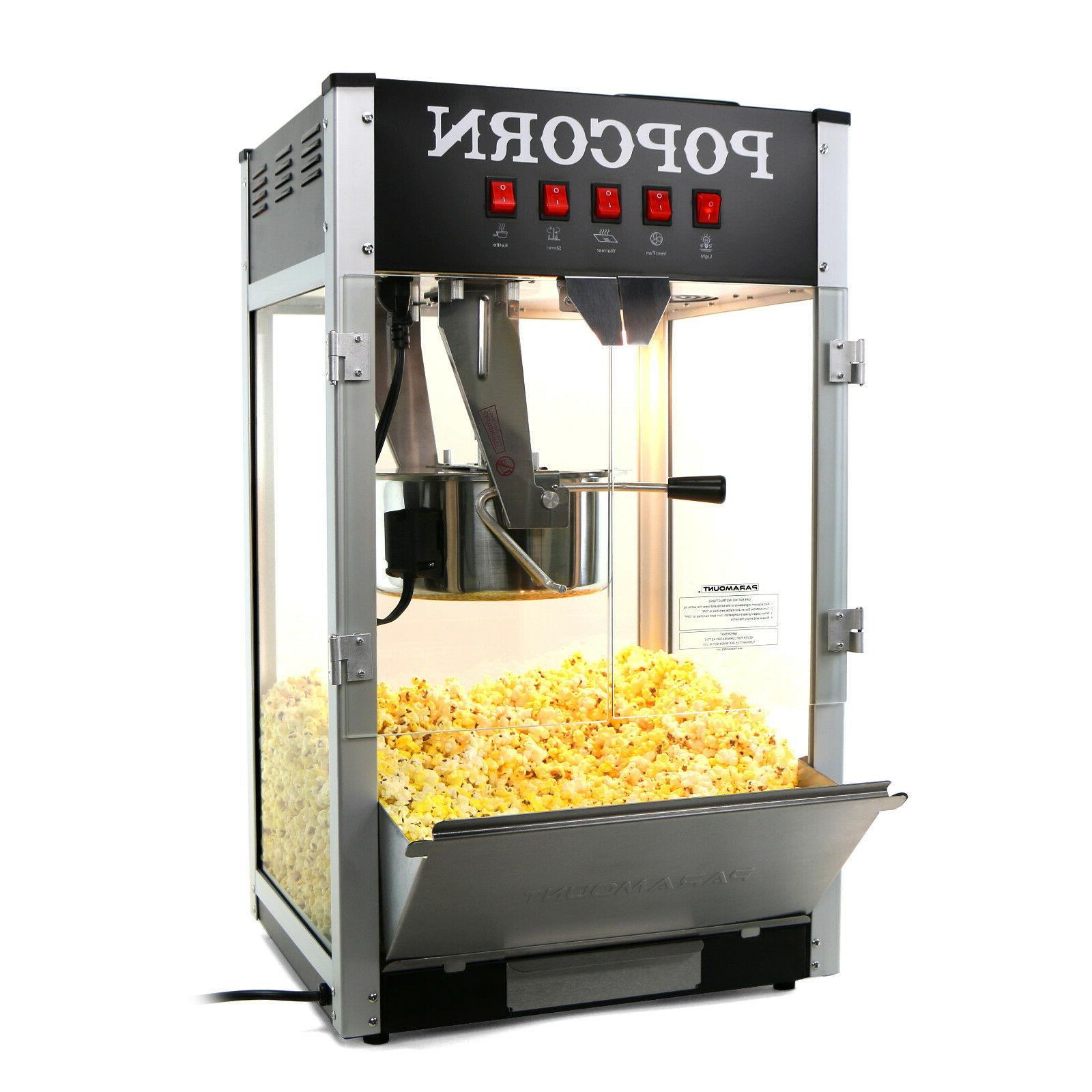 Paramount 16oz Commercial Popcorn Maker Machine - 16 oz Kett