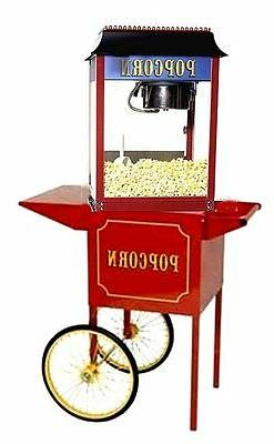 Paragon 1911 Antique 4 Ounce Popcorn Popper Machine and Cart
