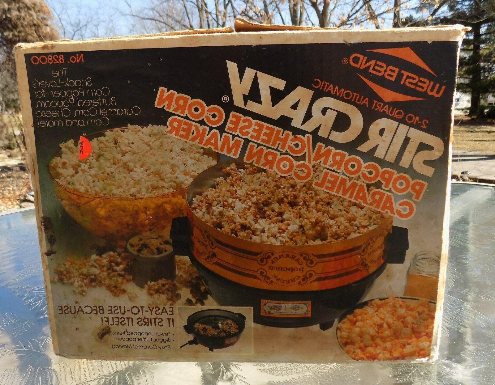 1982 stir crazy popcorn cheese corn carmel