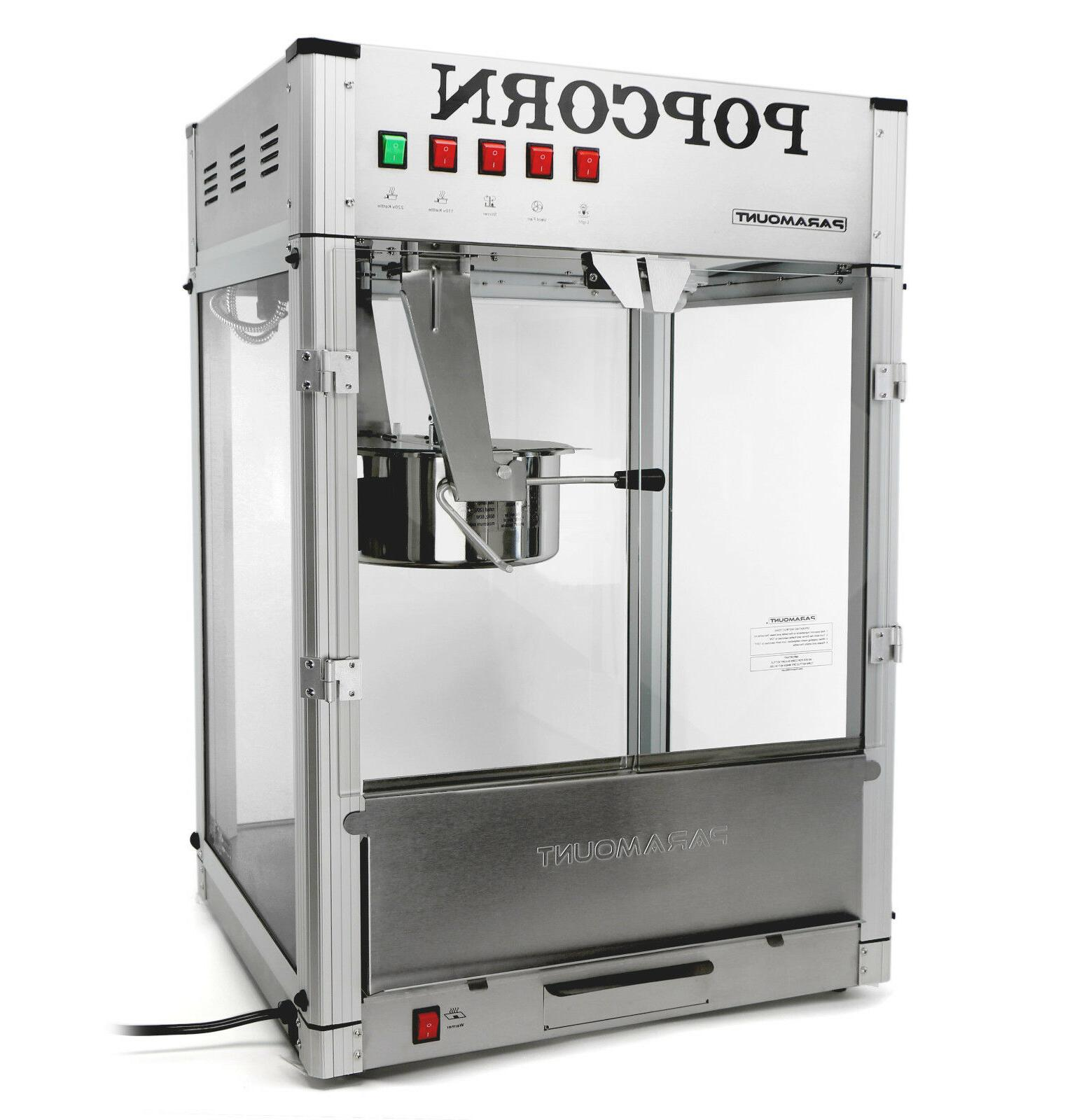 Paramount 20oz Commercial Popcorn Maker Machine Hot