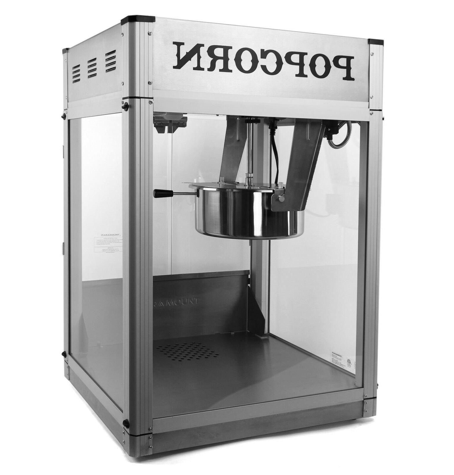 Paramount Commercial Machine Hot Oil Popper
