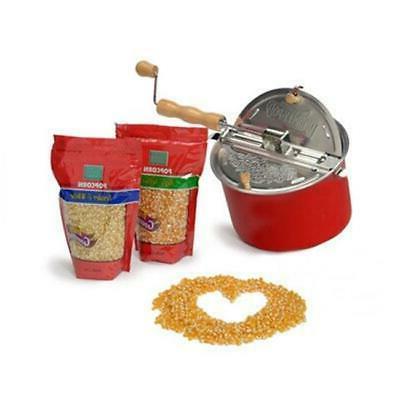 38306 whirley pop popcorn gift set