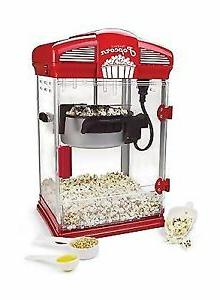 🎥🌽West Bend  4 qt. Red  Oil  Theater Style Corn Popper