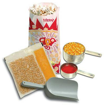 Benchmark 45006 127 Piece Popcorn Starter Kit, For 6 oz Popp