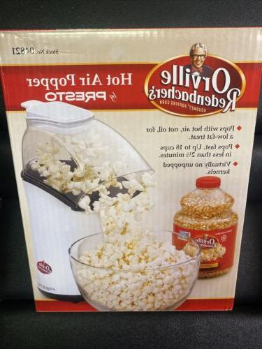 4qt hotair popcorn popper
