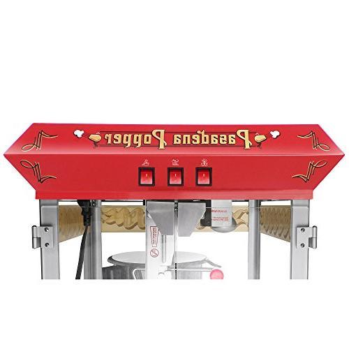 6040 Popcorn Machine with Cart,
