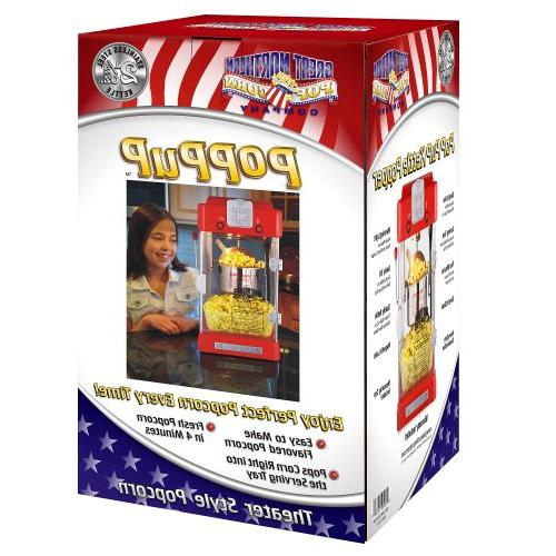 6074 Great Popcorn Machine Pup Retro Style Popcorn 2.5oz