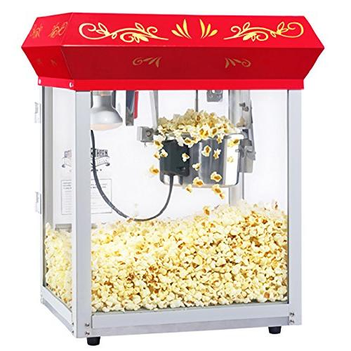 6112 Great Red Foundation Popper Machine, Ounce