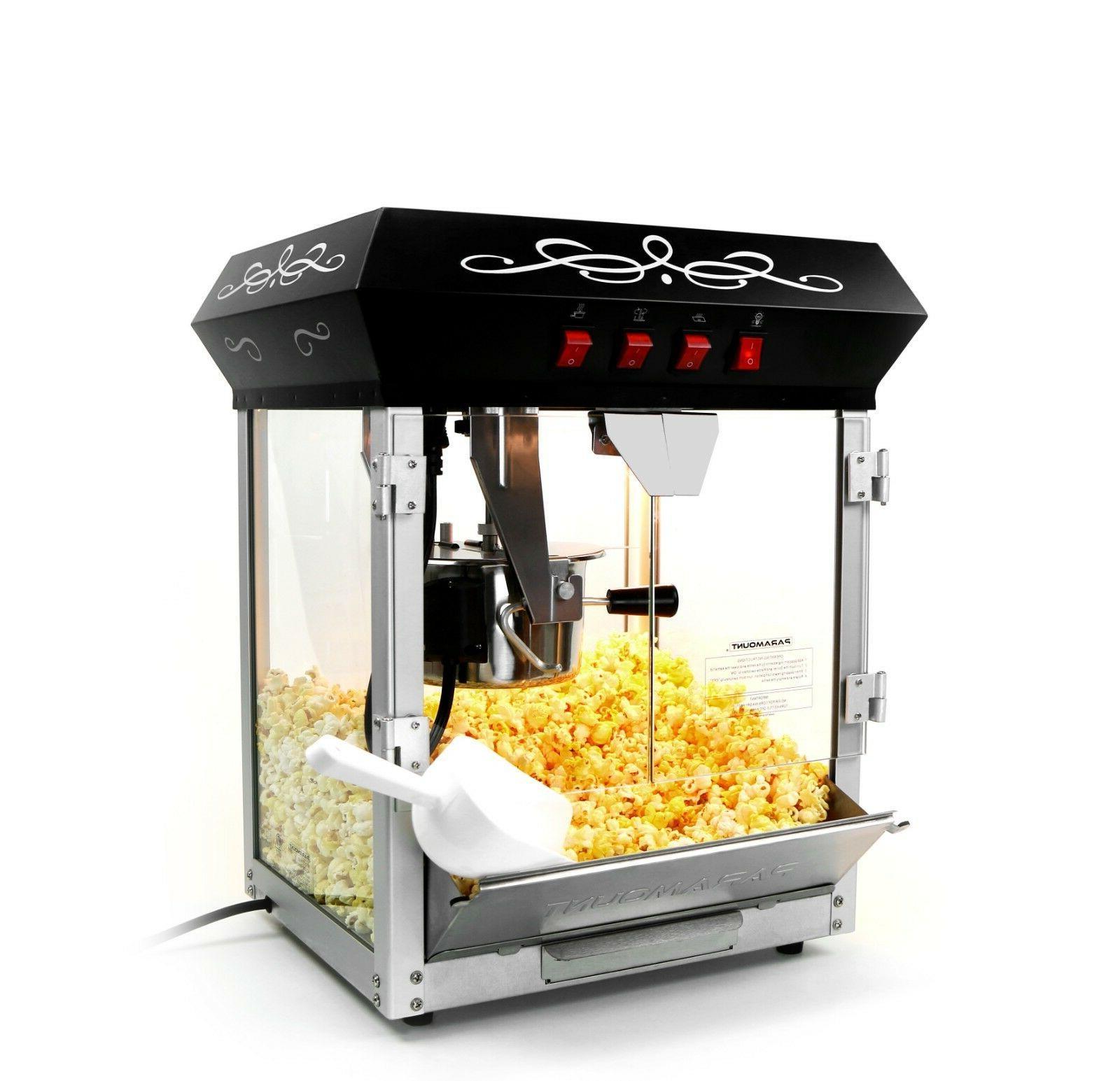 6oz popcorn maker machine new upgraded 6