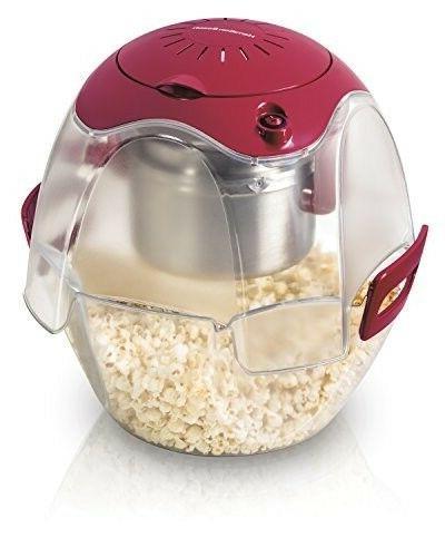 73310 party popper popcorn maker red