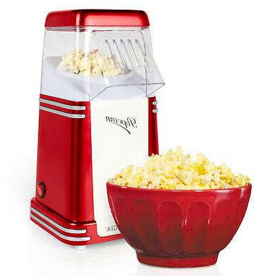 8 cup hot air popcorn maker countertop