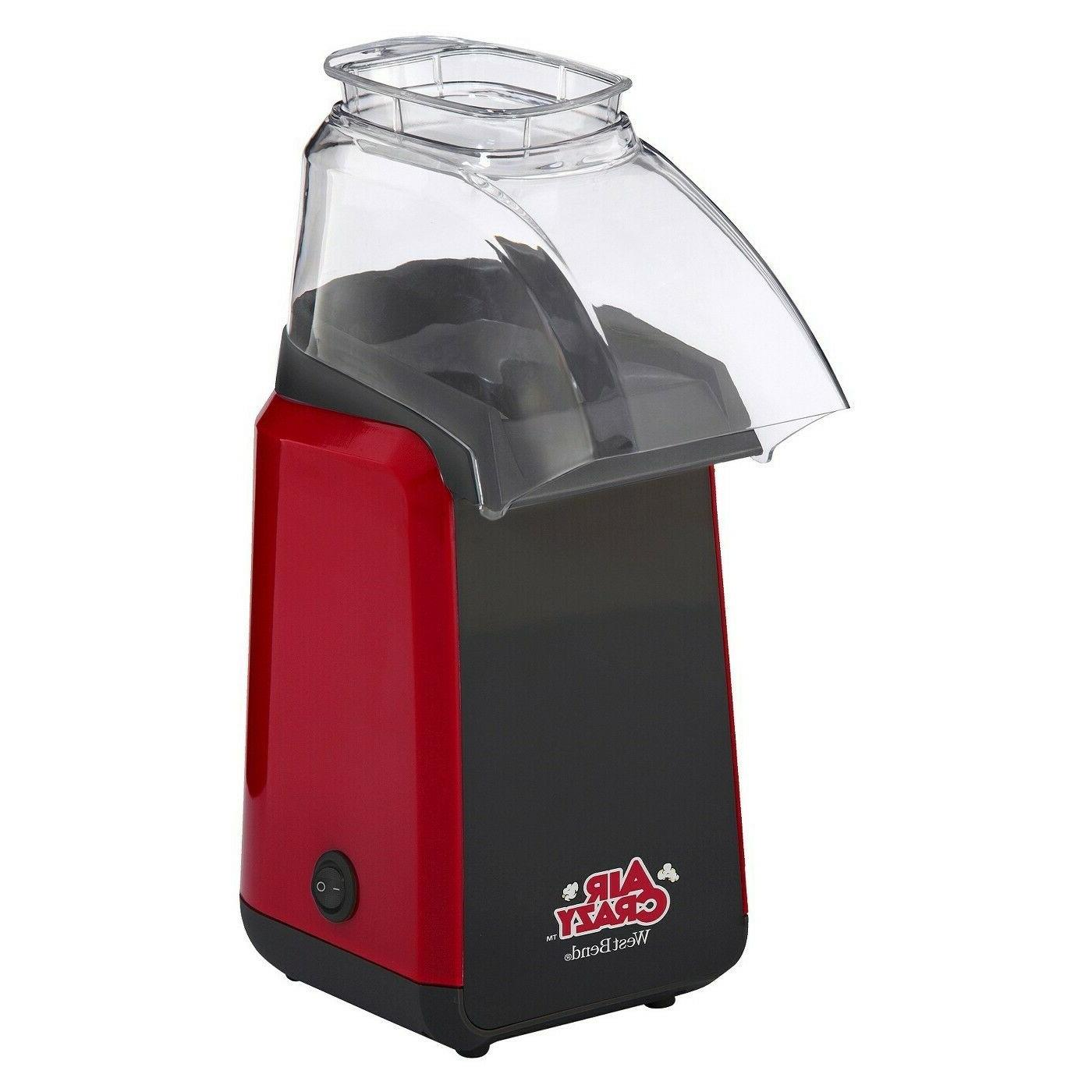 82418r air crazy hot air popcorn popper