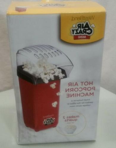 82421 air crazy mini popcorn machine