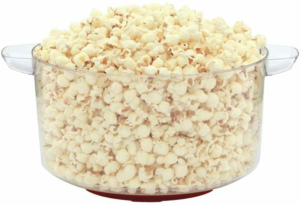 Electric Popper Stirring Offers Large Popcorn