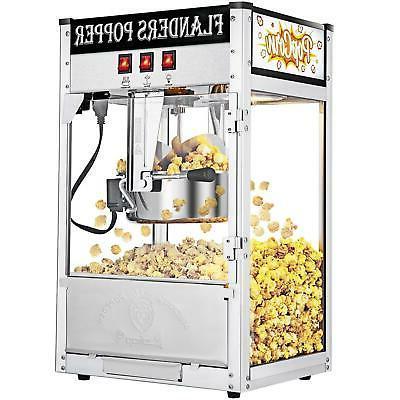 Zokop Vintage Healthy Tabletop Popcorn Maker Movie