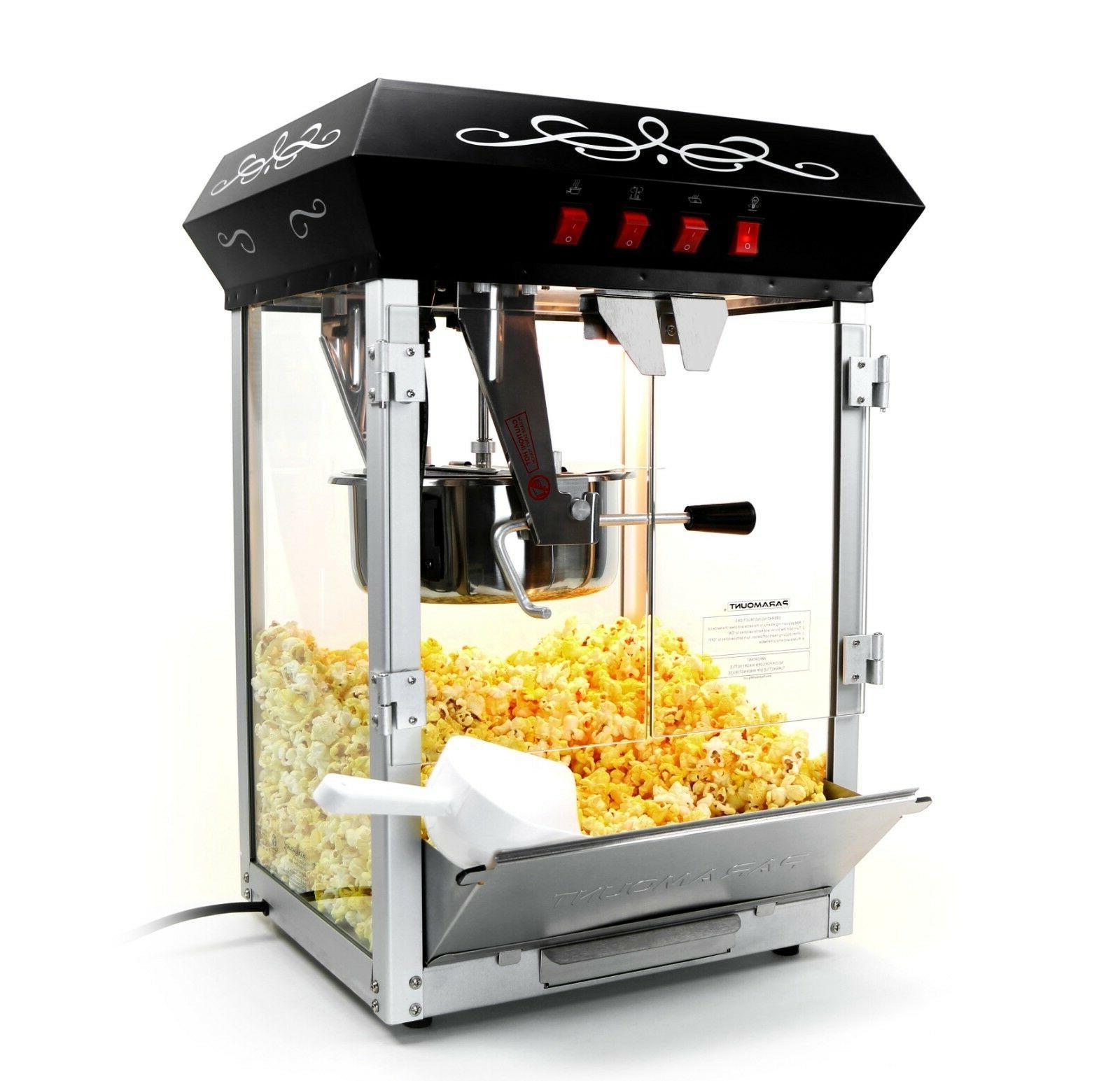 Paramount 8oz Machine Cart New 8 oz Popper