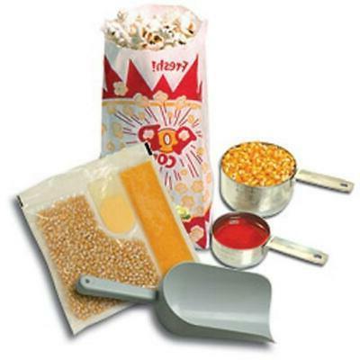 Benchmark 45006 127 Piece Popcorn Starter Kit, For 6 oz Popp