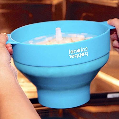 Maker Air Popper Bowl Use Kernels, Oil