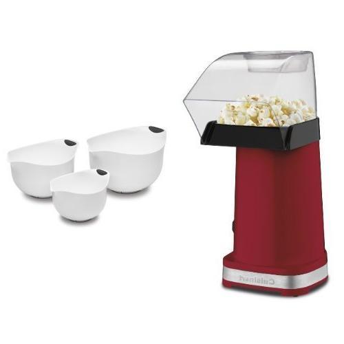 Cuisinart Popcorn Maker and Mixing Bowls Bundle