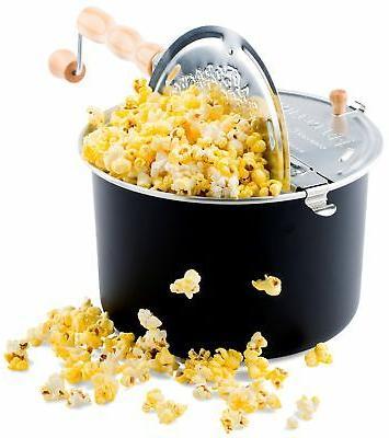 Franklin's Original Whirley Pop Stovetop Popcorn Machine Pop