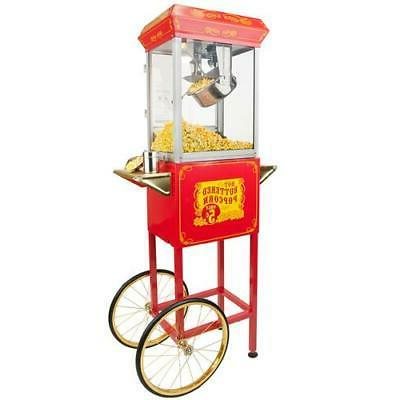 FunTime Sideshow Popper 4-Ounce Hot Oil Popcorn Machine with