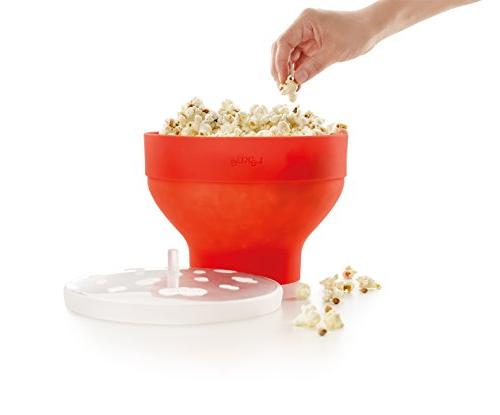 Lekue Microwave Popcorn
