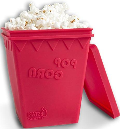 Microwave Popcorn Popper | Replaces Microwave Popcorn Bags |