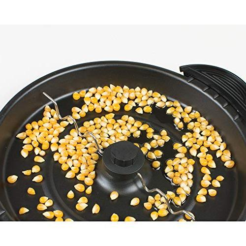 Nostalgia SP660SS 6-Quart Steel Stirring Popcorn