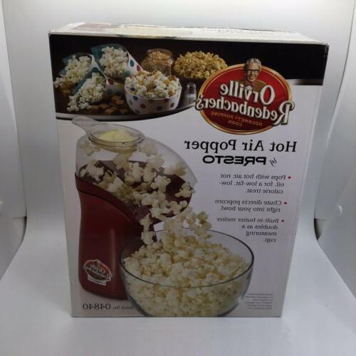 Orville Redenbacher Hot Air Popcorn Popper - Red
